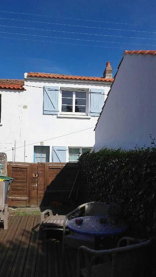 Loue petite maison à Noirmoutier-en-l'ile 4couchages