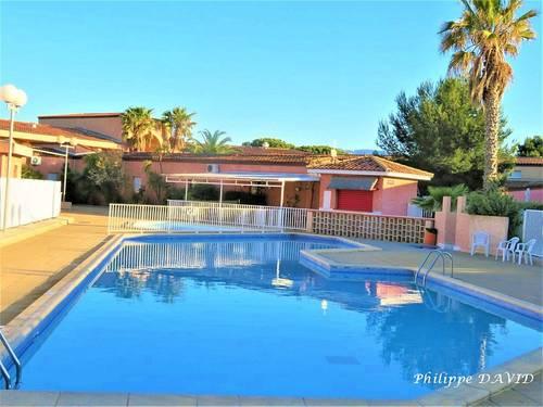 Loue petite villa à St Cyprien plage (66) 6couchages