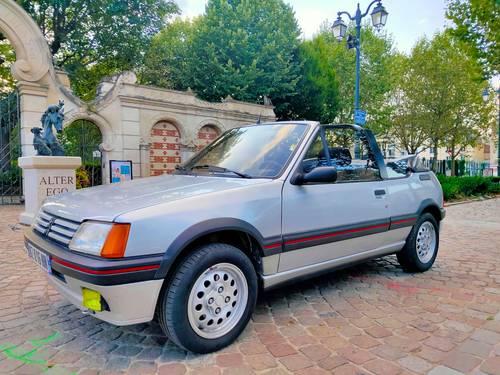 Peugeot 205CTI 1.6l 105ch phase 1de 112500km état d'origine