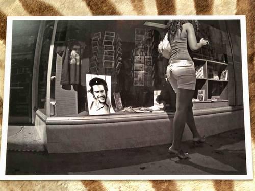 Photo Originale Signée N&B B&W Cuba La Havane Che Guevara