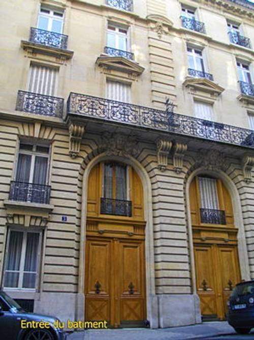 Loue beau 2Pièces + cuisine, 37m², meublé, Paris 16ème