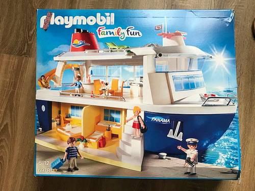 Playmobil 6978Bateau de Croisière Family Fun très bon état