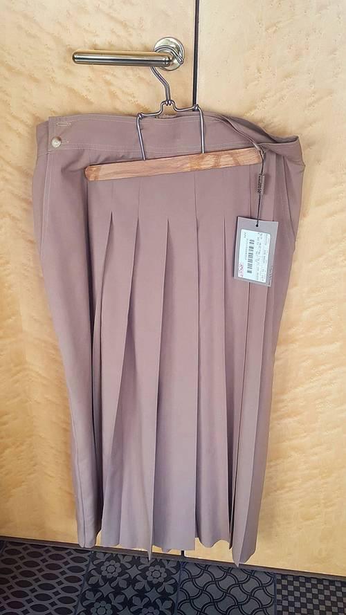 Jupe plissée culotte neuve T46Marina Sport