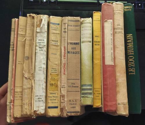 Lot plusieurs livres rares (Aimons… L'enfant, Eugénie Grandet,…)