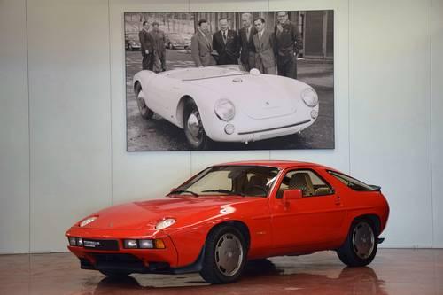 Porsche 928s'53500km