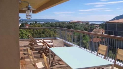 Propose grand appartement dernier étage avec terrasse - 2chambres - 4couchages - Porto-Vecchio (20)