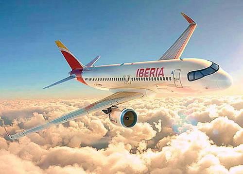 Propose avoir de 709€ avec la compagnie Iberia