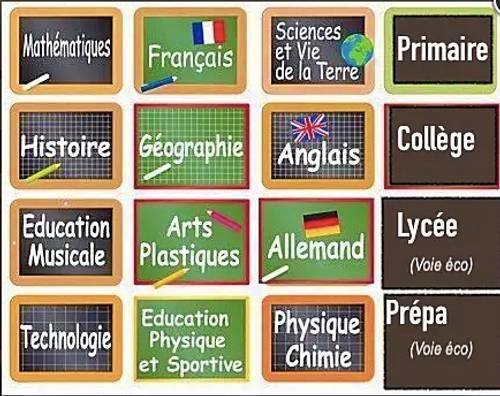 JF propose cours primaire/collège/lycée