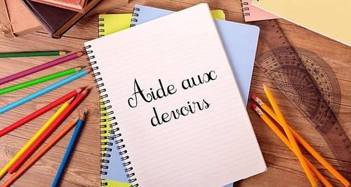 Propose soutien scolaire et aide aux devoirs