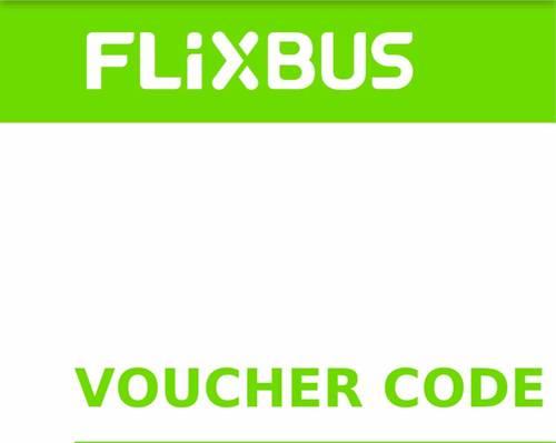 Vends voucher Flixbus 55€