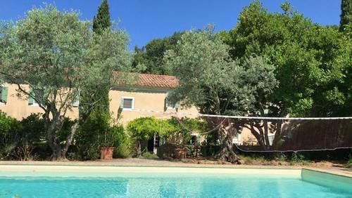 Loue mas provençal avec bassin - 6chambres, 12couchages, Aubignan (82)