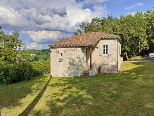 Loue Gîte à Lendou-en-Quercy (46) - Vue panoramique - Calme et clair - 4personnes
