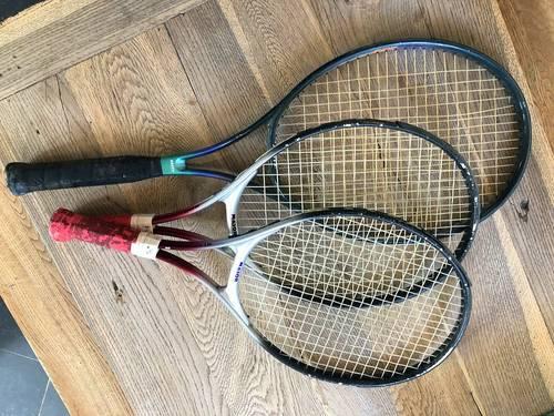 Lot de 3raquettes de tennis pour enfants