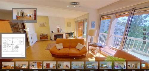 Réalisation de visites virtuelles dans l'immobilier