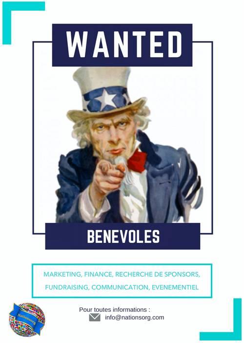 Recherche bénévoles/stagiaires/services civiques