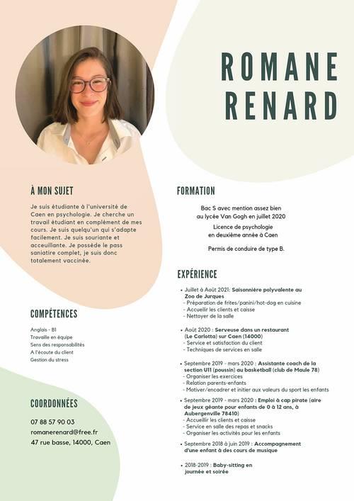 Recherche job étudiant Caen