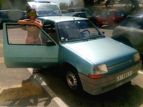 Vends Renault R5type Super 51996, 150000Km