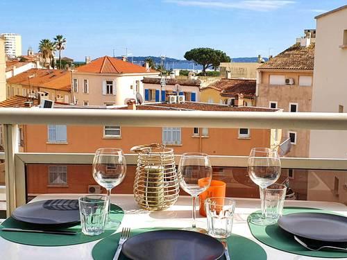 Loue Très Rare, T3rénové 4couchages avec grand balcon #VUE MER# CV