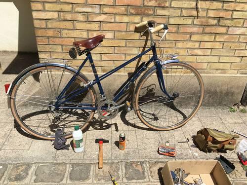 Propose réparation de vélo à domicile