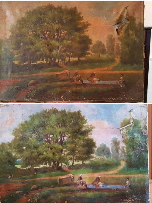 Propose restauration Conservation de tableaux et d'objets d'art peints