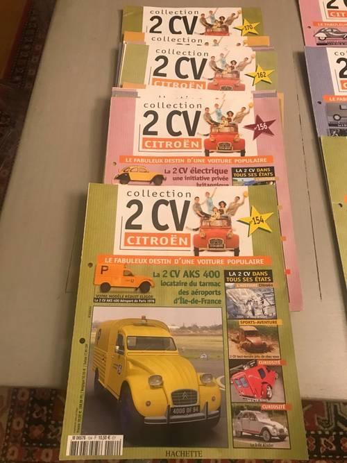 Revues Collection 2cv Citroën
