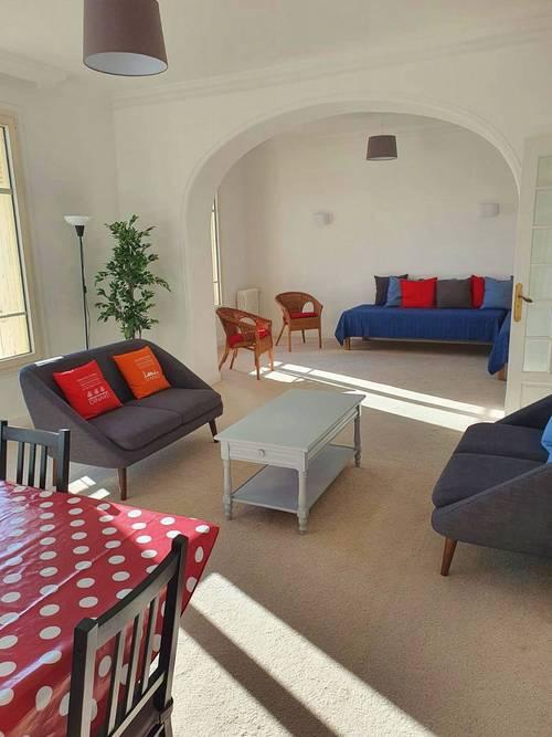 Saint Malo (35) Plage du Sillon (50m) - Loue grand appartement 6couchages