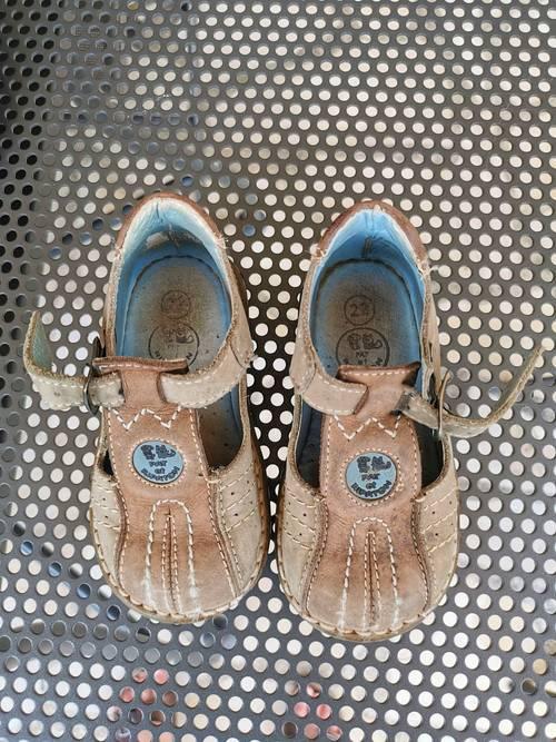 Sandales beiges pointure 22