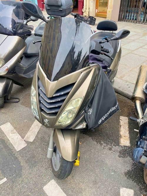 Scooter Peugeot citystar 125- 15200km - 2015