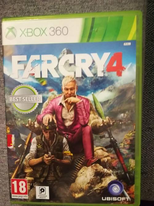 Far cry 4Xbox 360best seller edition