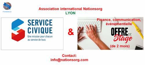 Propose service Civique chez Nationsorg - Lyon 7ème