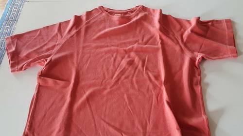 Tee shirt saumon Burton, taille XL