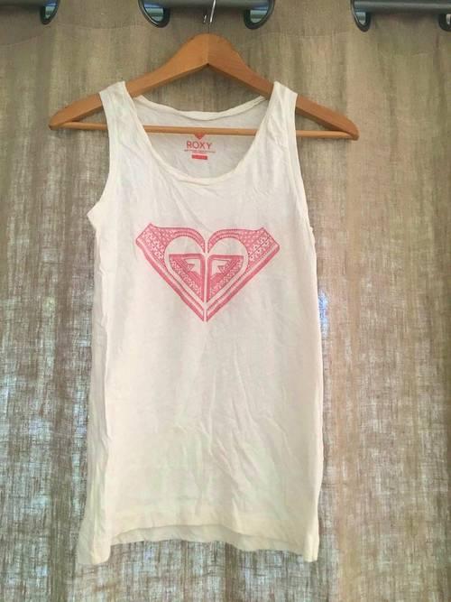 Tee-shirt Roxy blanc - taille S