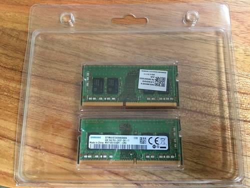 2x 4GB SoDIMM Memoire ordinateur portable / SM30N76503