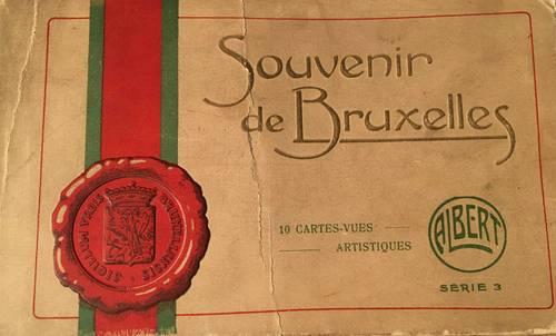 Souvenir de Bruxelles (cartes postales anciennes)