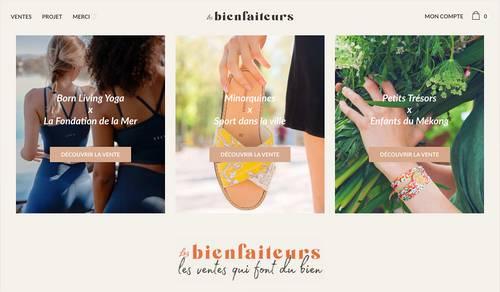 LesBienfaiteurs.com  | Stages Marketing digital / Business development