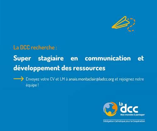 Stage en communication et développement des ressources