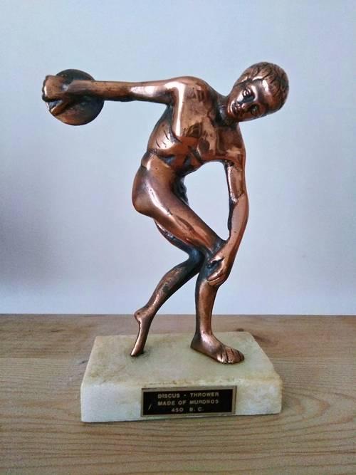Statue grecque en bronze