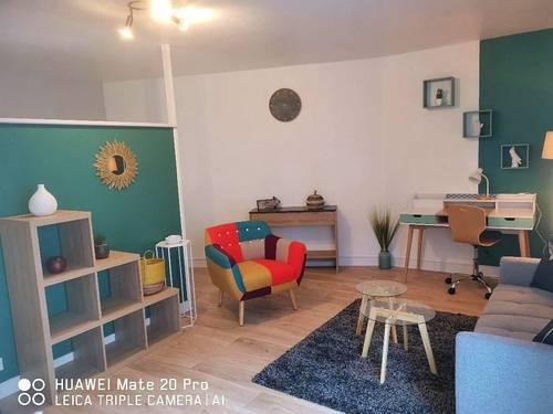 Loue Beau studio 42m² à Alençon centre ville