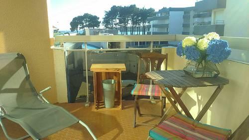 Loue Studio 2couchages Benodet (finistere) proche plage-parking inclus