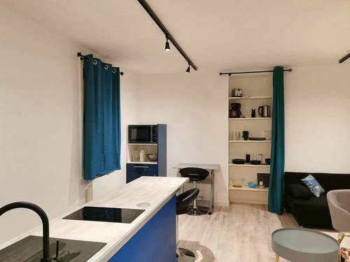 Loue studio meublé 25m² - Vannes centre (56)