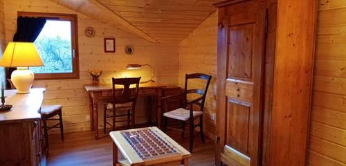 Loue studio chalet 28m² pour personne seule, ambiance familiale