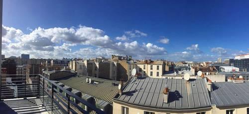 Loue Studio 32m² avec terrasse (7ème étage) à Clichy