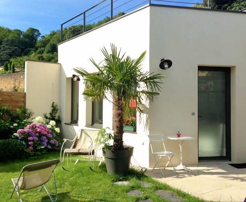 Loue studio indépendant 2couchages Lyon 9è vue panoramique exceptionnelle