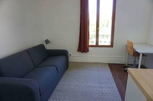 Loue studio meublé à Alfortville (94) à 5mn du RER