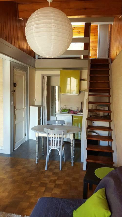 Loue studio meublé mezzanine Wifi quartier St Cyprien