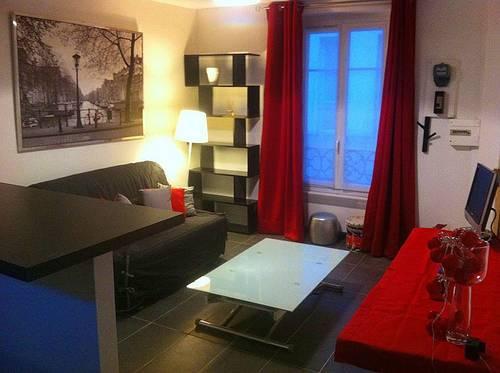 Loue studio meublé 21m² Cœur Batignolles 17ème
