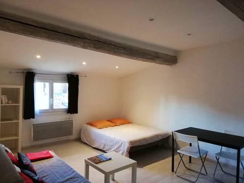Loue Studio meublé 26m² Aix en Provence CV - Juillet 2021- 2couchages