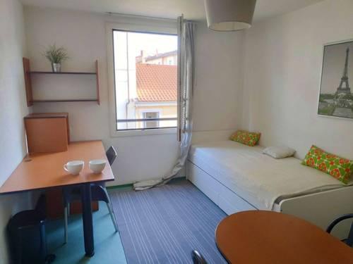Loue studio meublé dans résidence étudiante Lyon 3ème - 1chambre, 18m²