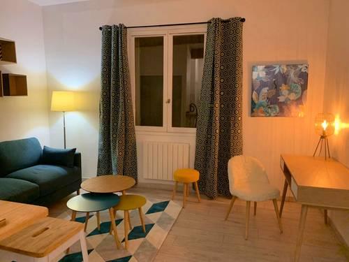 Loue studio 23m² en plein cœur d'Aix-en-Provence (13) - 1couchage