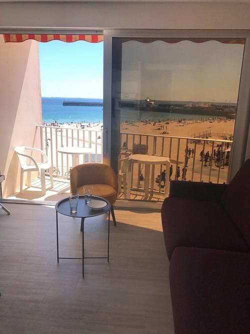 Loue studio- 2couchages, WIFI - Quiberon (56) direct sur plage